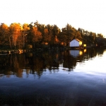 Autumn at Big Whiteshell Lodge