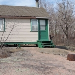 Big Whiteshell Lodge 2 Bedroom Lakefront Rustic Cottage on rock