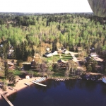Big Whiteshell Lodge Aerial
