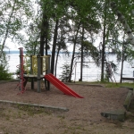 Big Whiteshell Lodge Beach Play Structure