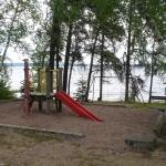 Big Whiteshell Lodge Beach Play Structure