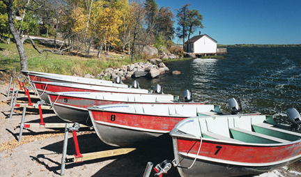 Big Whiteshell Lodge Boat Rentals