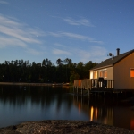 Big Whiteshell Lodge Cottage over the water