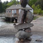 Big Whiteshell Lodge Inukshuk