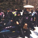 Big Whiteshell Lodge Snowmobilers