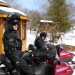 Big Whiteshell Lodge Snowmobiling