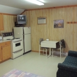 Big Whiteshell Lodge Studio Kitchen