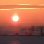 Big Whiteshell Lodge Winter Sunrise