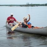 Canoeing at Big Whiteshell Lodge
