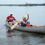 Canoeing at Big Whiteshell Lodge