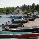 Figherfighters Fishing Derby at Big Whiteshell Lodge