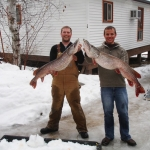 Great Ice Fishing at Big Whiteshell Lodge