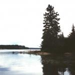 Horseshoe Lake in the Whiteshell