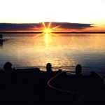 Morning Sunrise at Big Whiteshell Lodge