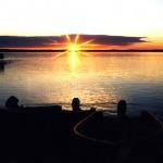 Morning Sunrise at Big Whiteshell Lodge