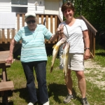 Never too old to fish at Big Whiteshell Lodge