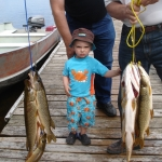 Never too young to fish at Big Whiteshell Lodge